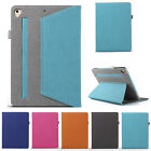 Canvas Leather Smart Hand Strap Stand Case Cover For iPad Mini/6th Gen/Pro 9.7