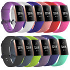 For Fitbit Charge 3 Silicone Porous Watch Band Bracelet Wrist Strap Replacement image