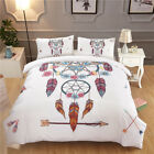 Urban Printed Bedding Set Duvet Quilt Cover&Pillowcase Twin/Queen/King All Size