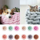 Thick Knitted Pet Nest Bed Small Pets Cat Litter Soft Warm Dog Kennel Washable