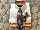Boys Formal Dress Shirt with Matching Tie and Hanky Vangogh Sizes 2T 3T 4T NEW