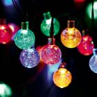 Solar Powered Retro Bulb String Lights For Garden Outdoor Fairy Summer Lamp Xmas
