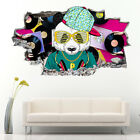 J264 Panda Beats Music DJ Cool Wall Stickers Bedroom Girls Boys Living Kids