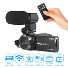 Andoer HD 1080P WiFi IR Night Vision Digital Video Camera Camcorder Recorder Kit