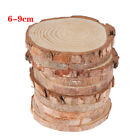 Craft Party Birthday Kids Gift Tags Number Cards Wood Slices Wedding Decoration