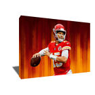 Kansas City Chiefs PATRICK MAHOMES II Poster Photo Painting on CANVAS Wall Art $72.0 USD on eBay