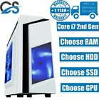 Gaming Pc Quad Core I7 Computer Ssd Hdd 4-16 Gb Ddr3 Ram Gt Gtx Windows 10 Wifi