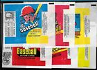 BASEBALL MLB WAX PACK WRAPPER OPC O PEE CHEE TOPPS & EMPTY BOX SEE LIST