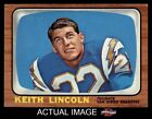 1966 Topps #127 Keith Lincoln Chargers EX/MT $8.25 USD on eBay