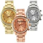 Fashion Ladies Women Girl Geneva Quartz Analog Wrist Watch Stainless Steel Band image