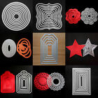 Внешний вид - Metal Dies Set Scrapbooking Xmas Cardmaking Decor Cutting Dies Stitched Frames