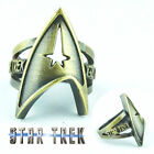Anime Star Trek Finger Ring Retro Metal Hollow Rings Cosplay Props Accessories on eBay