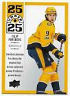 NASHVILLE PREDATORS Hockey Base Parallel Inserts YG RC - U PICK CARDS $0.99 USD on eBay