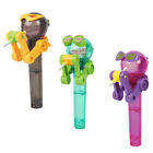 Cute Creative Lollipop Robot Holder Decompression Candy Dustproof Toy