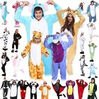 Unisex Adult Pajamas Kigurumi Anime Cosplay Costume Animal Onesi1 Sleepwear Hot