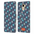 OFFICIAL emoji® WINTER PATTERNS LEATHER BOOK CASE FOR WILEYFOX & ESSENTIAL