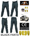 Men Motorbike WaterProof Cordura Textile Pants With CE Approved Armour