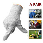 12/24Pair Heavy Duty Cotton + PU Work Garden Glove Builder Level 5 Anti-cutting