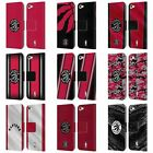 OFFICIAL NBA TORONTO RAPTORS LEATHER BOOK WALLET CASE FOR APPLE iPOD TOUCH MP3