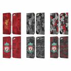 LIVERPOOL FC DIGITAL CAMOUFLAGE PU LEATHER BOOK CASE FOR APPLE iPOD TOUCH MP3