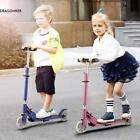 Foldable Adjustable Height 2-Wheel Kick Scooter with LED Light Up Wheels DNKR
