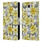 OFFICIAL MICKLYN LE FEUVRE FLORALS LEATHER BOOK WALLET CASE FOR LG PHONES 2