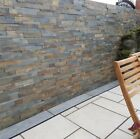 Rustic Slate wall cladding Garden patio internal external indian sandstone patio