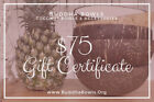 Buddha Bowls Coconut Bowls BuddhaBowls.Org Gift Certificate