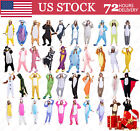 USPS  Adults Animal Kigurumi Pajamas Cosplay Onesie888 Sleepwear Costumes Unisex