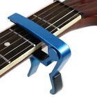 Change Key Capo Clamp for Electric Acoustic Guitar Quick Trigger Release Popular