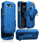Kickstand Case Slim Cover + Belt Clip Holster for Sonim XP5s Phone (XP5800)