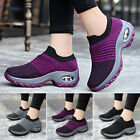 Womens Breathable Sneakers Trainers Sock Runners Comfy Knit Shoes Size UK 4-7.5