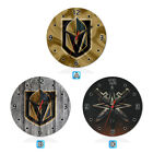 Vegas Golden Knights Wood Wall Clock Gift Round Office Home Room Decor $11.99 USD on eBay