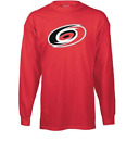 NHL Reebok Carolina Hurricanes Long Sleeve Hockey Shirt New Mens Sizes $24 $12.00 USD on eBay