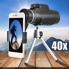 40X60 Telescope Telephoto Monocular Cell Phone Camera Lens Tripod Holder