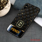 Hot Sale Fendi34 Black pattern Cover For iPhone & New XR XS,XS MAX Samsung Case
