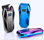 Electronic Lighter Usb Charging Pulsed Arc Windproof Cigarette Metal Flame Less