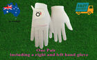 Women's Golf Gloves Rain Grip Wet Hot Weather 1 Pair Left and Right Hand  AU