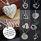 Charm Mom Mother&daughter Best Friend Mother's Day Heart Pendant Necklace Gift