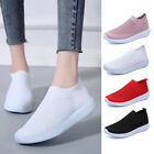 Women's Slip On Trainers Gym Sports Sock Sneakers Mesh Shoes Breathable Outdoor