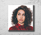 Hot New Alessia Cara Beautiful Girl Music Singer 24x24 27x27 Fabric Poster E-586