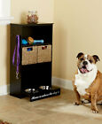 All-in-One Storage Centers for Dogs Cabinets Baskets Dog 2 28oz Bowls Included