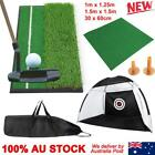 Golf Practice Net Mat Grass Driving Holder Outdoor Indoor Training Backyard Pad