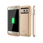 Alpatronix Samsung Galaxy S6 Slim Battery Charging Case Charger Cover Power Bank