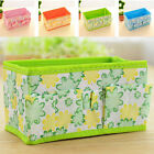 2 Pack Folding Makeup Cosmetic Organizer Storage Box Container Bag