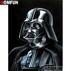 DIAMOND PAINTING - STAR WARS DARTH VADER BLACK - FULL ROUND - multi size $21.95 AUD on eBay