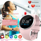 Women&Girl Waterproof Bluetooth Smart Watch Ladies Phone Mate For Android iPhone image