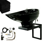 CERAMIC or ABS Wall Mount Salon Backwash Shampoo Bowl Spa Beauty Equipment