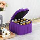 1 pc Makeup Bag Portable Zippered 16 Slots Essential Oil Bottle Pouch for Women
