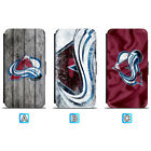 Colorado Avalanche Leather Case For iPhone X Xs Max Xr 7 8 Plus Galaxy S9 S8 $4.99 USD on eBay